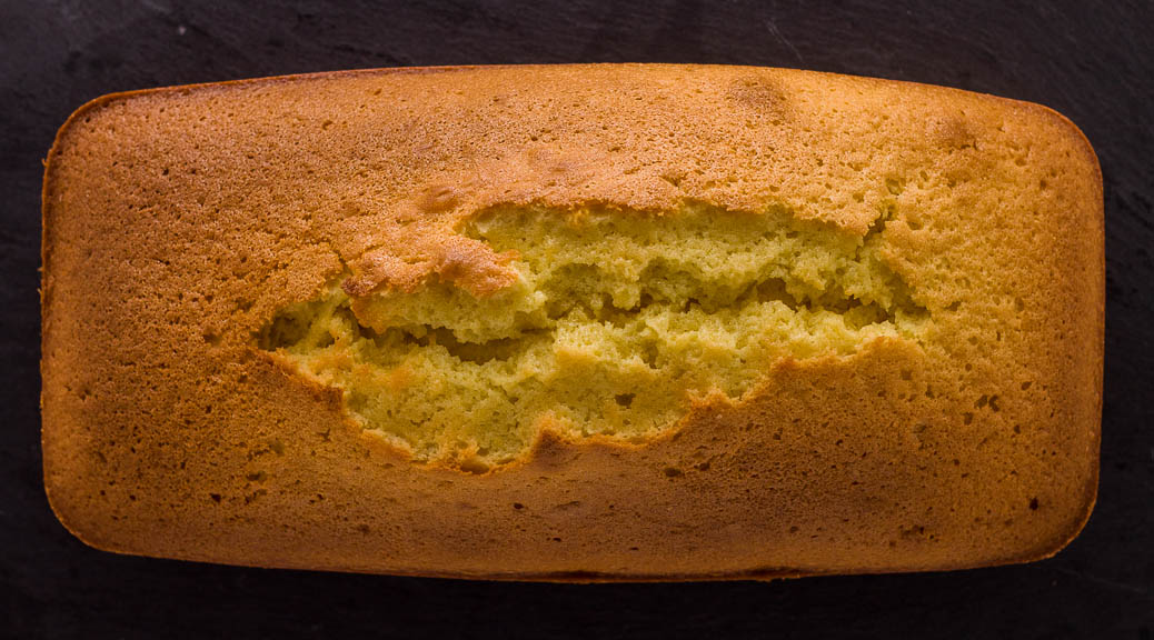 le cake au citron de pierre hermé - dur à cuire !